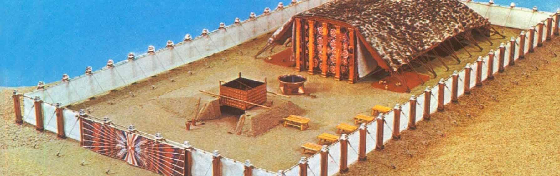 La tabernacle est une tente utilisée par les juifs dans le désert pour adorer Dieu